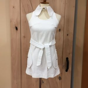 Vintage White Mini Dress